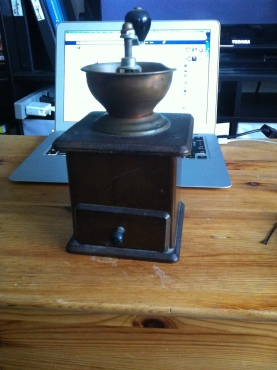 Coffee Grinder, before fixing